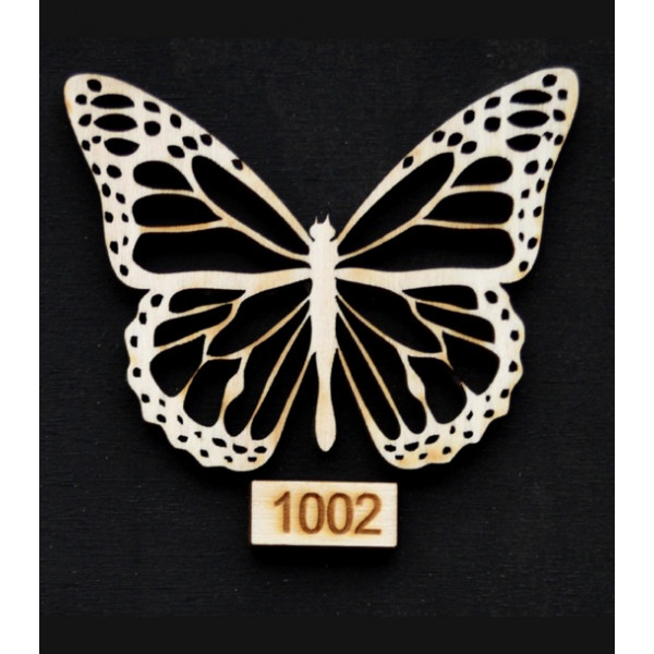 Πεταλούδα Ξύλινη Νο1