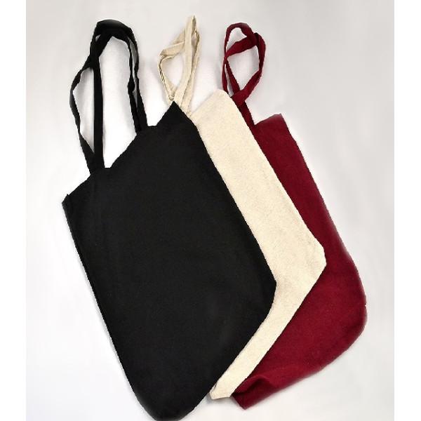 POLYCOTTON BAG WITH LONG HANDLE