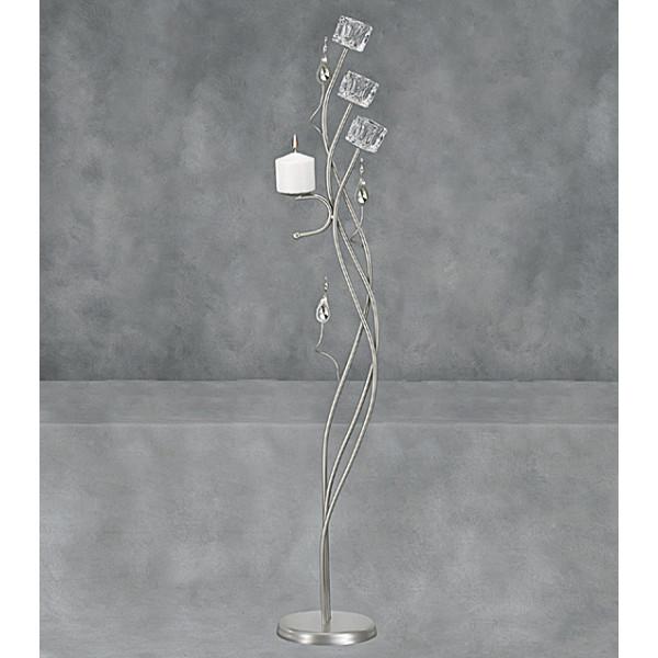 Λαμπάδες Γάμου Φωτιστικά ΔΙΩΝΗ Παγάκι γυαλί