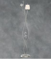 Λαμπάδες Γάμου Φωτιστικά ΡΟΔΟΣ τριαντάφυλλο γυαλί