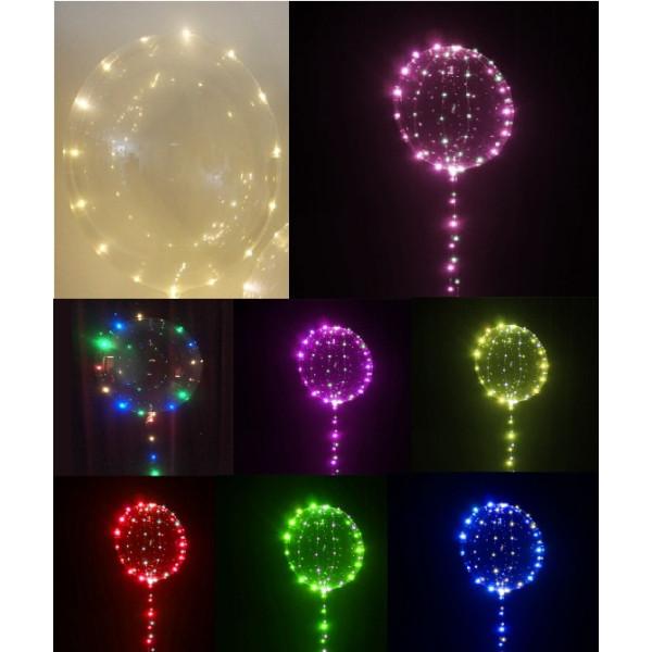 Μπαλόνι φωτιζόμενο 18 ιντσών LED