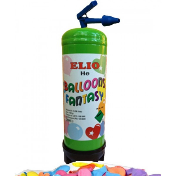 Φιάλη ήλιον μίας χρήσης 28 μπαλονιών
