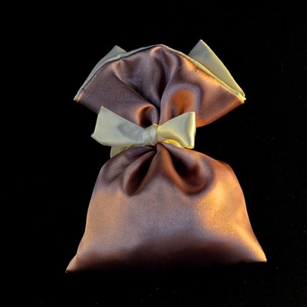 Μπομπονιέρα Γάμου Πουγκί Σατέν 15Χ12