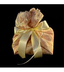Μπομπονιέρα Γάμου Δετή Φωλιά Σατέν Δαντέλα