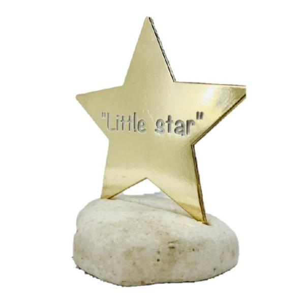 LITTLE STAR ΧΡΥΣΟ ΜΕ ΒΟΤΣΑΛΟ