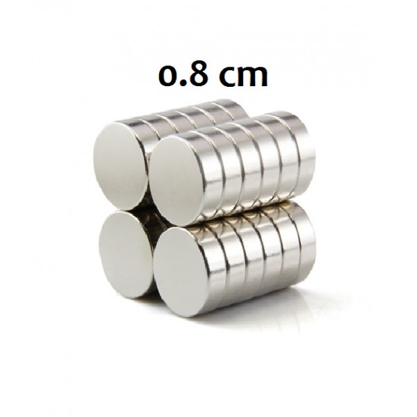 ΜΑΓΝΗΤΗΣ ΣΤΡΟΓΓΥΛΟΣ ΓΙΑ ΚΑΤΑΣΚΕΥΕΣ 0.8cm