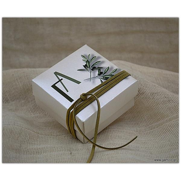 Μπομπονιέρα Κουτί με Εκτύπωση
