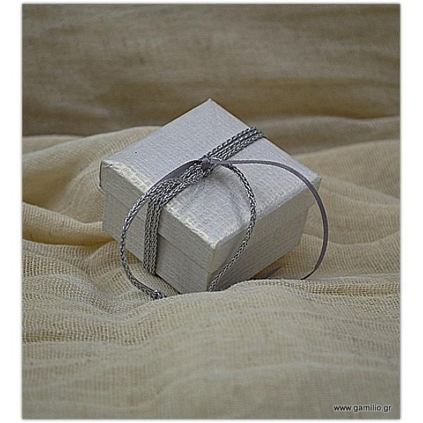 Μπομπονιέρα Κουτί 6.5Χ6.5Χ4